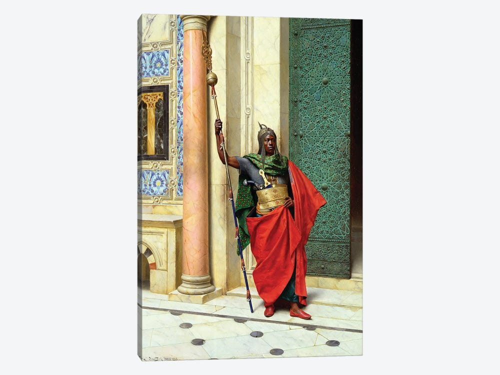 On Guard by Ludwig Deutsch 1-piece Canvas Artwork