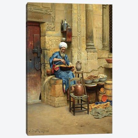 Street Merchant, 1888 Canvas Print #BMN7741} by Ludwig Deutsch Canvas Print