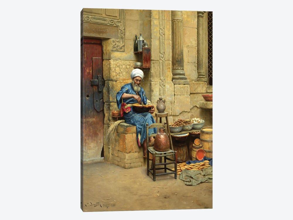 Street Merchant, 1888 by Ludwig Deutsch 1-piece Canvas Print