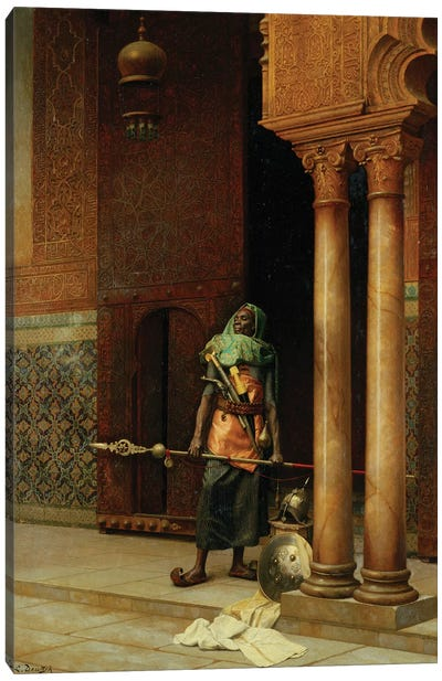 The Harem Guard Canvas Art Print