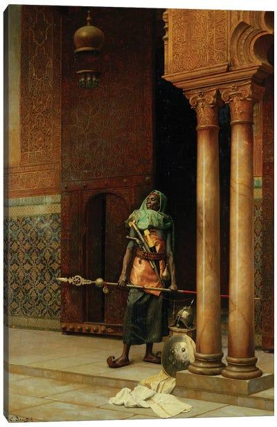 The Harem Guard Canvas Art Print