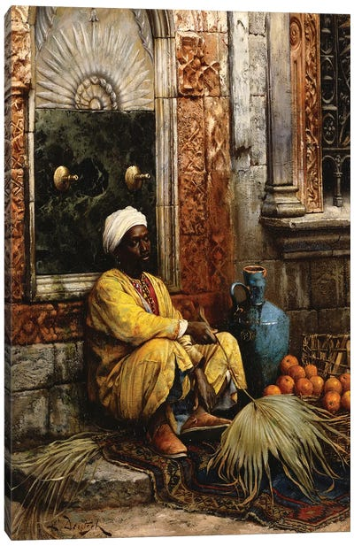 The Orange Seller, 1882 Canvas Art Print