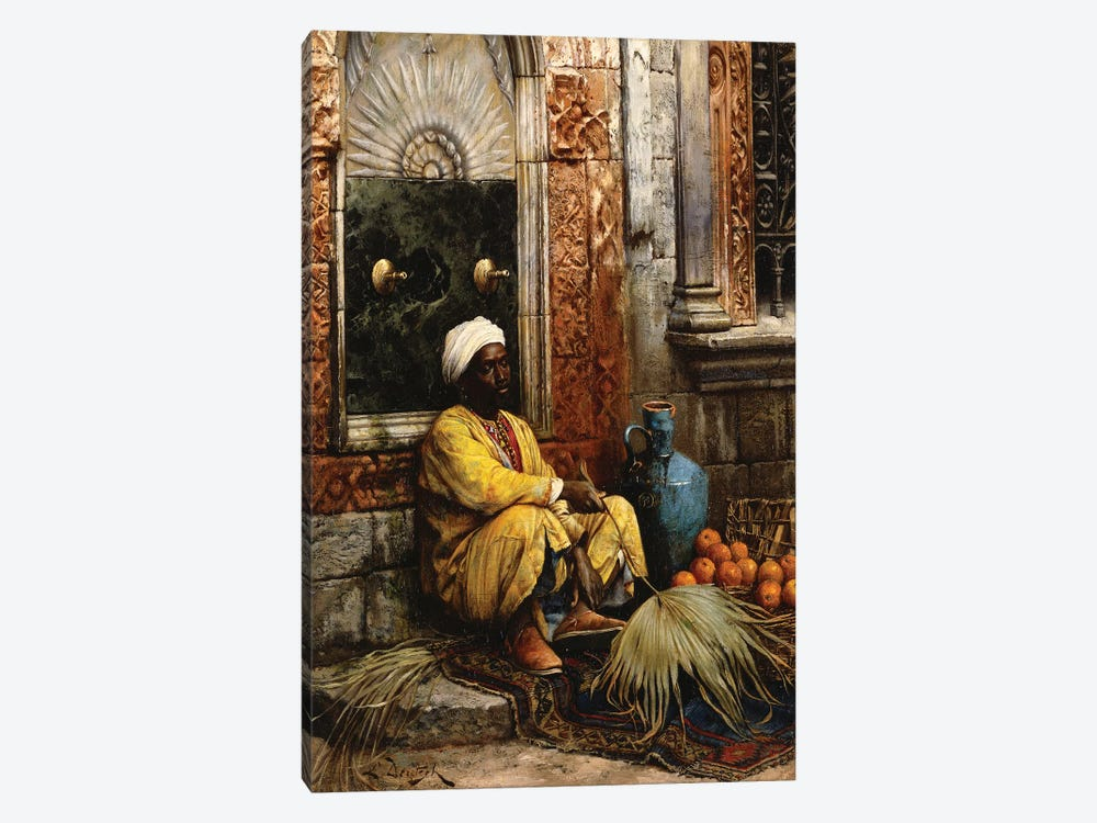 The Orange Seller, 1882 by Ludwig Deutsch 1-piece Art Print