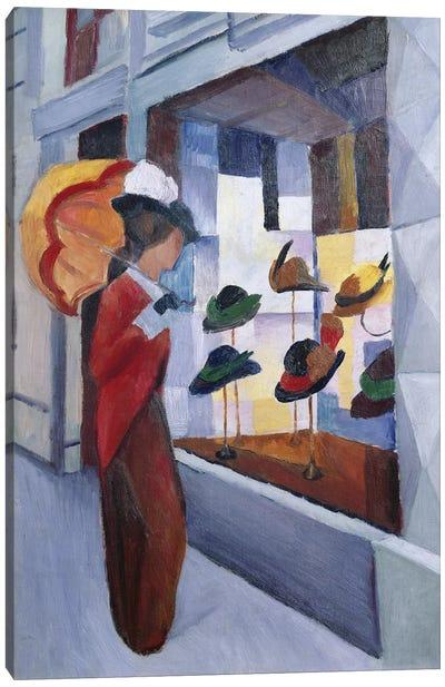 The Milliner's Shop, 1914 Canvas Art Print
