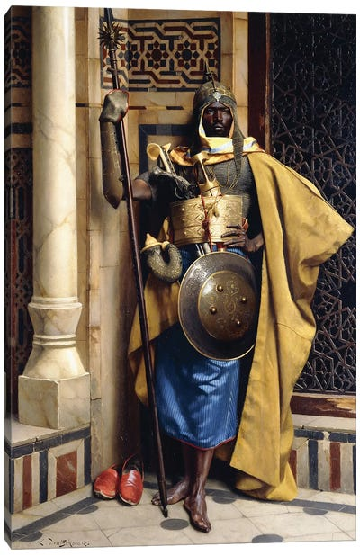 The Palace Guard, 1892 Canvas Art Print