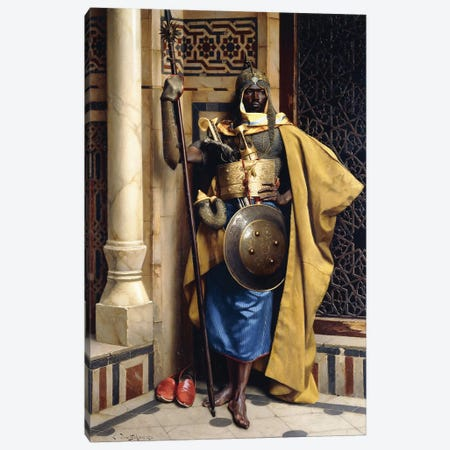The Palace Guard, 1892 3-Piece Canvas #BMN7750} by Ludwig Deutsch Canvas Wall Art