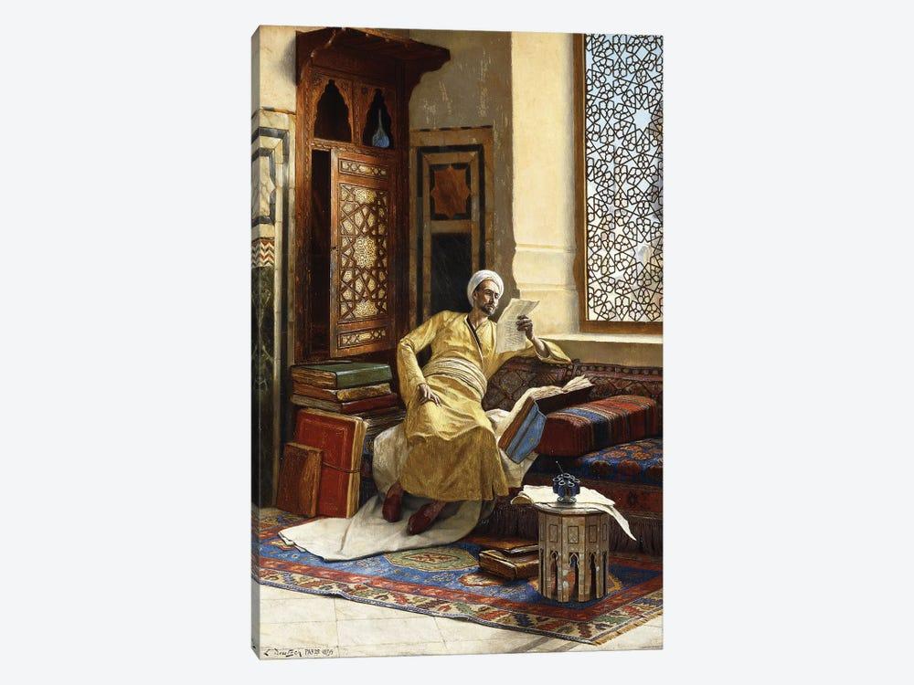 The Scholar, 1895 by Ludwig Deutsch 1-piece Canvas Artwork