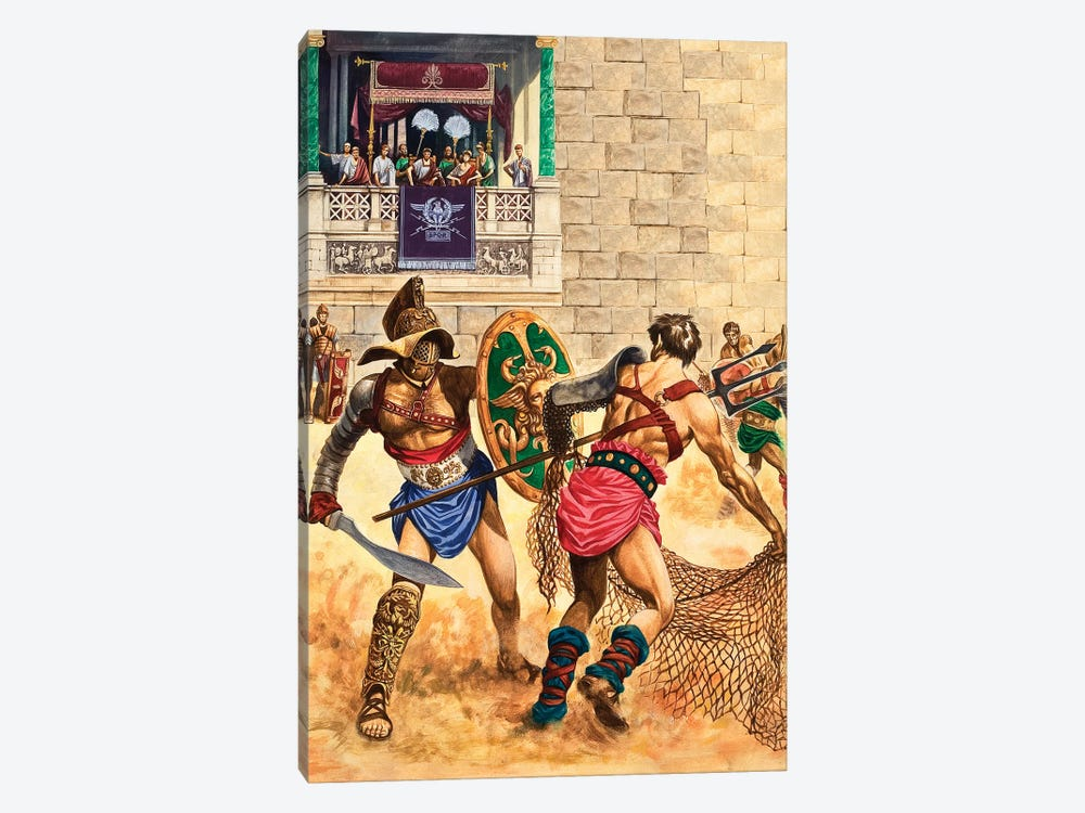 Gladiators by Peter Jackson 1-piece Canvas Wall Art