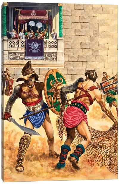Gladiators Canvas Art Print