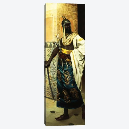 Nubian Guard Canvas Print #BMN7765} by Rudolf Weisse Canvas Art