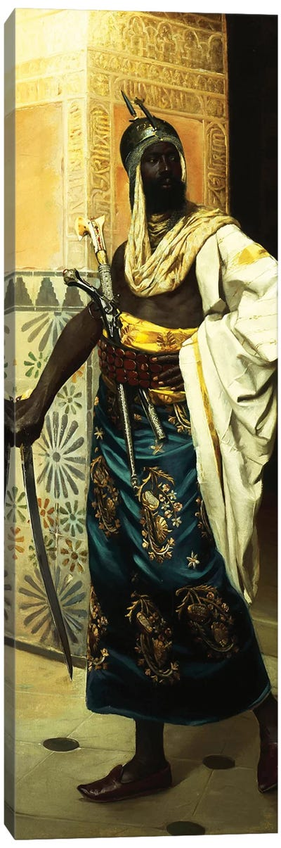 Nubian Guard Canvas Art Print