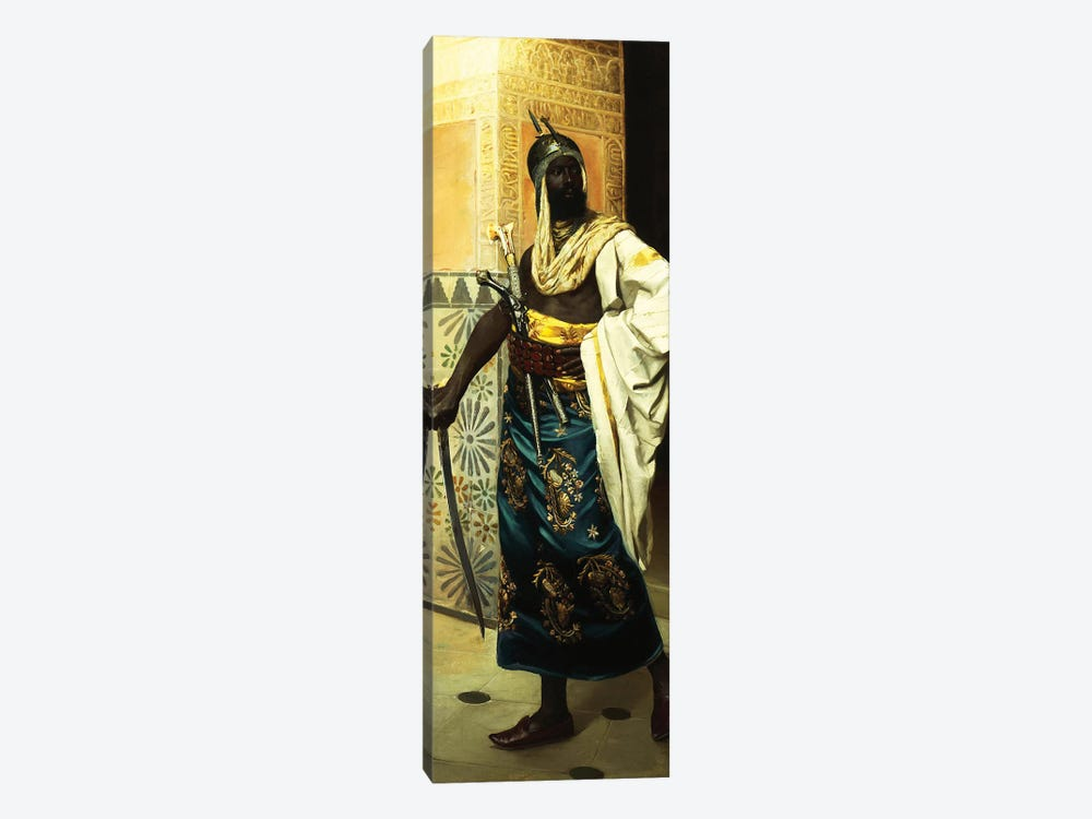 Nubian Guard by Rudolf Weisse 1-piece Canvas Print
