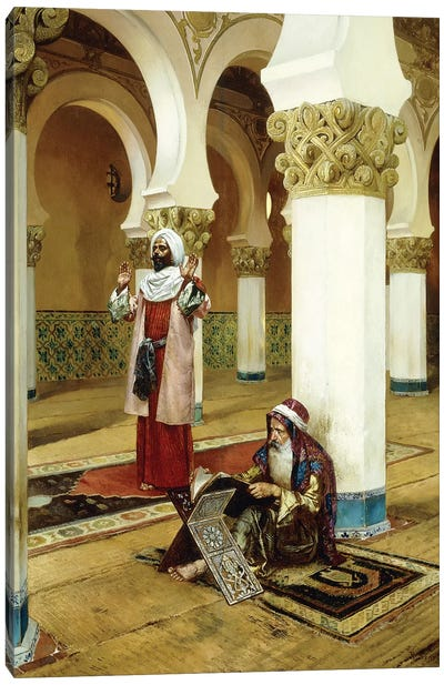 Evening Prayer Canvas Art Print