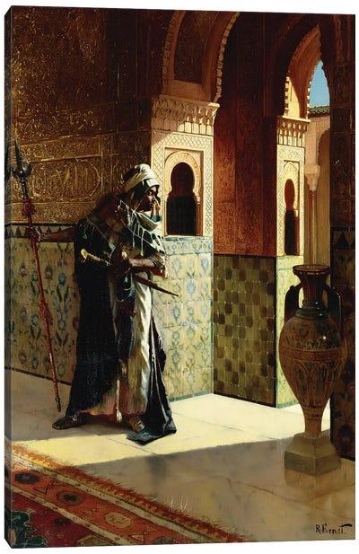 The Moorish Guard, The Alhambra Canvas Art Print