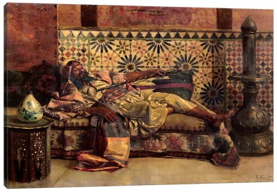 The Narghileh Canvas Art Print