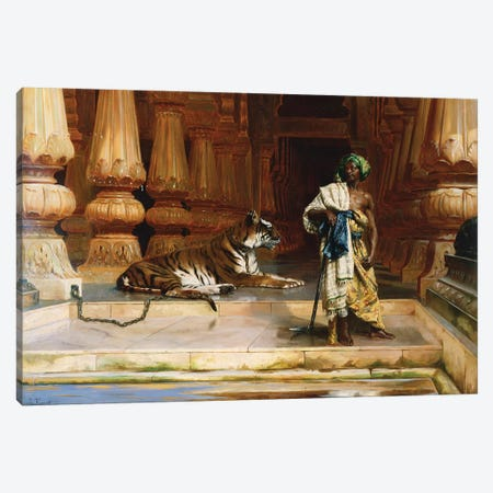 The Palace Guards 3-Piece Canvas #BMN7774} by Rudolphe Ernst Art Print