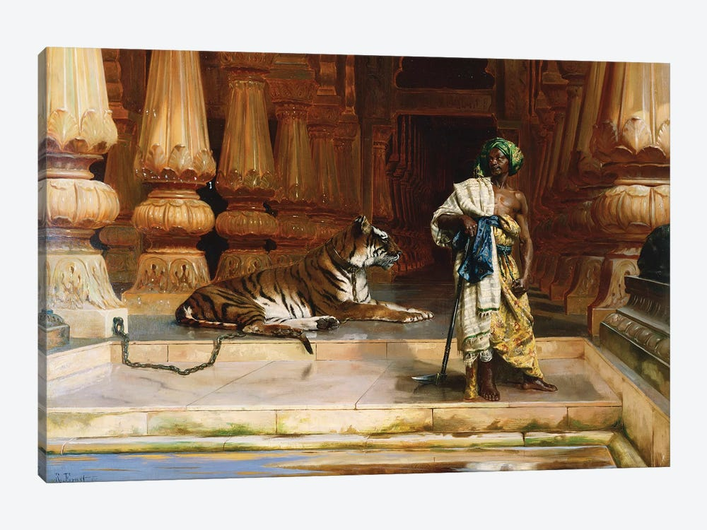 The Palace Guards by Rudolphe Ernst 1-piece Canvas Art Print