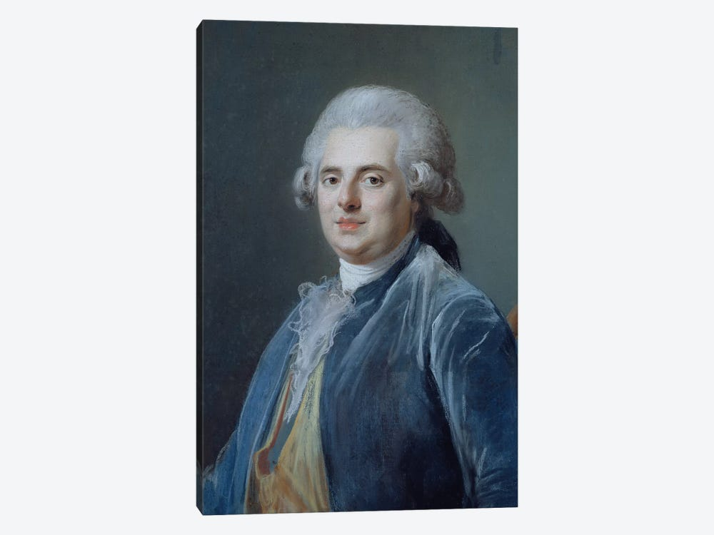 Comte de Provence, c.1778 by Adelaide Labille-Guiard 1-piece Canvas Wall Art