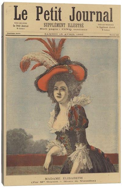 Madame Elisabeth Canvas Art Print