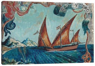 Bon Voyage, 1929 Canvas Art Print