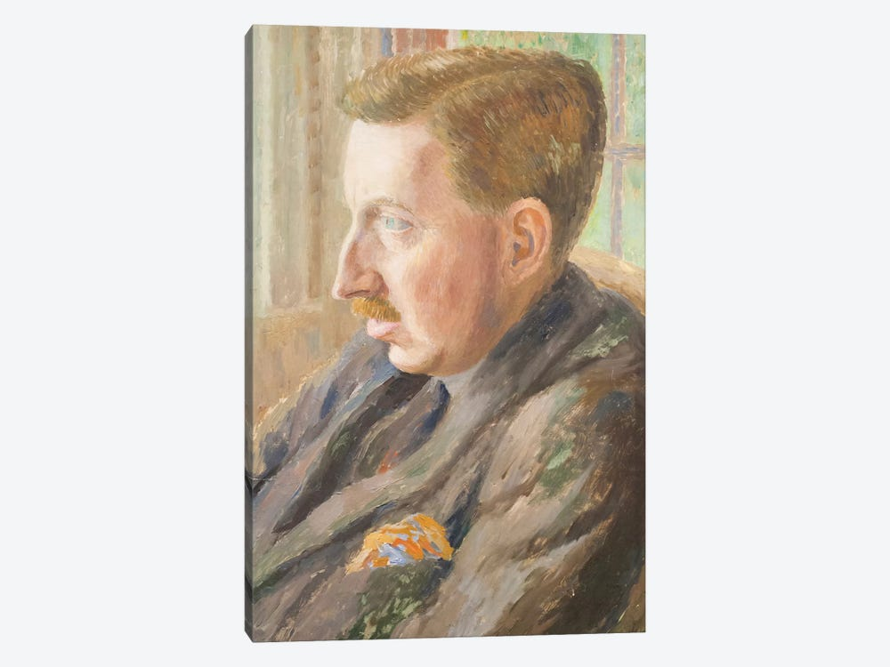 E. M. Forster, 1920 by Dora Carrington 1-piece Art Print