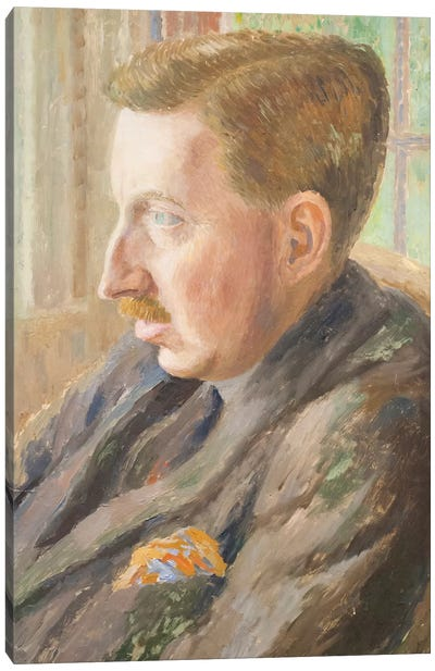 E. M. Forster, 1920 Canvas Art Print