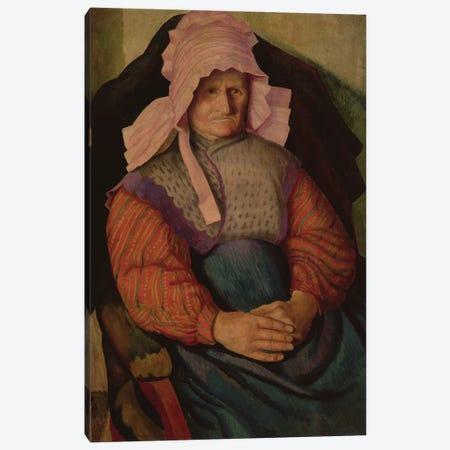 Mrs. Box, 1919 3-Piece Canvas #BMN7795} by Dora Carrington Canvas Print