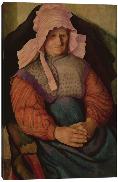 Mrs. Box, 1919 Canvas Art Print