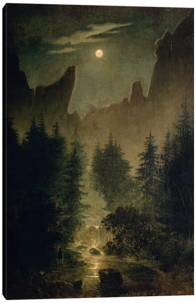 Uttewalder Grund, c.1825  Canvas Print #BMN779