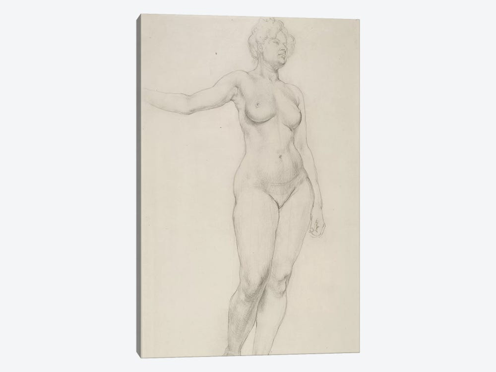 Standing Female Nude, 1914 by Dora Carrington 1-piece Canvas Artwork