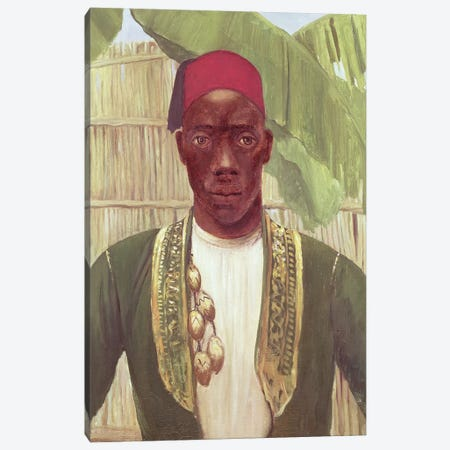 King Mutesa Of Buganda, From A Photo 3-Piece Canvas #BMN7803} by Dorothy Tennant Canvas Art