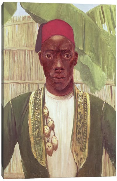 King Mutesa Of Buganda, From A Photo Canvas Art Print