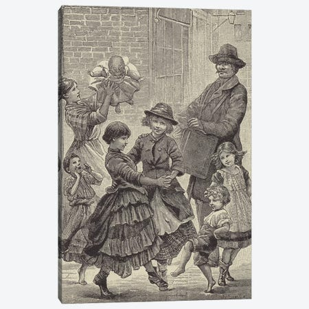 London Street Arabs (litho) VI 3-Piece Canvas #BMN7809} by Dorothy Tennant Canvas Art