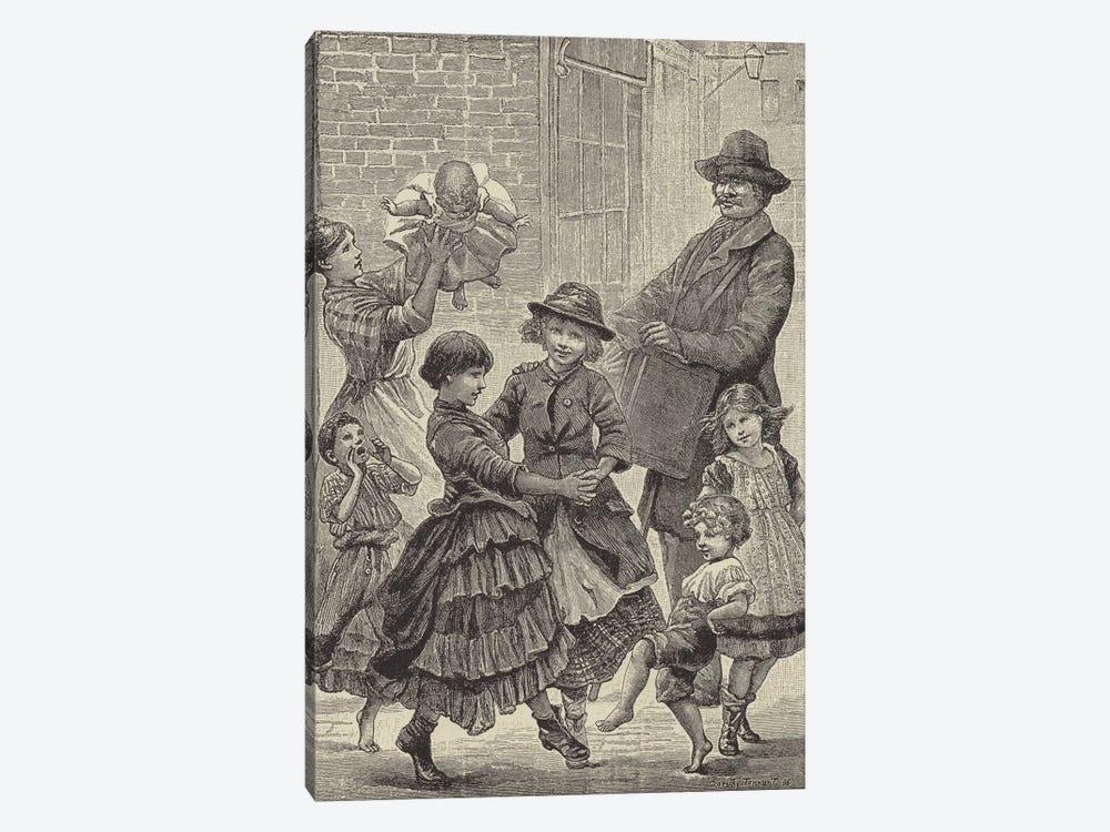London Street Arabs (litho) VI by Dorothy Tennant 1-piece Canvas Art Print