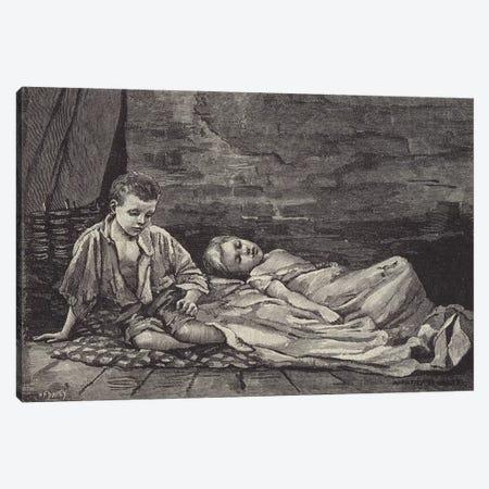 London Street Arabs (litho) XX Canvas Print #BMN7823} by Dorothy Tennant Canvas Art