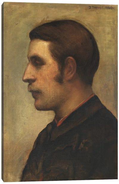 Stanley, 1880 Canvas Art Print
