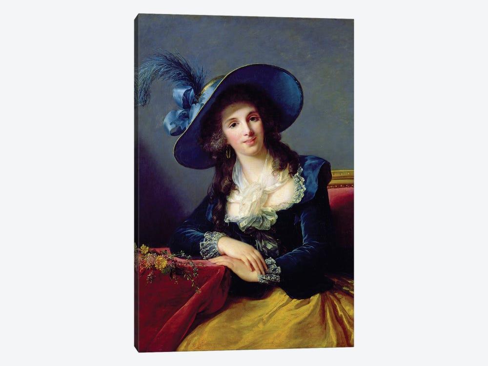 Antoinette-Elisabeth-Marie d'Aguesseau (1756-1828) Countess Of Segur, 1785 by Elisabeth Louise Vigee Le Brun 1-piece Canvas Art