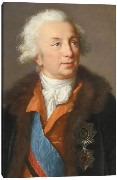 Ivan Ivanovich Shuvalov (1727–1797), c.1795-1797 Canvas Art Print