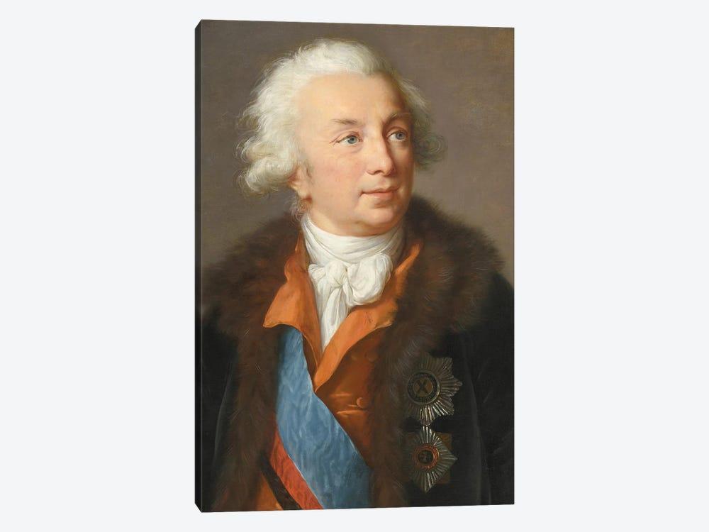 Ivan Ivanovich Shuvalov (1727–1797), c.1795-1797 by Elisabeth Louise Vigee Le Brun 1-piece Canvas Print