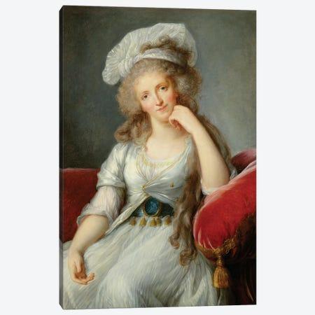 Louise-Marie Adelaide, Duchesse d'Orleans Canvas Print #BMN7845} by Elisabeth Louise Vigee Le Brun Art Print