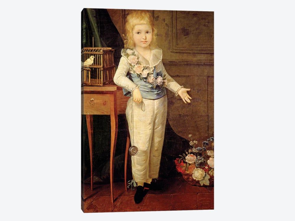 Portrait Of A Boy Playing With A Yo-Yo by Elisabeth Louise Vigee Le Brun 1-piece Canvas Artwork