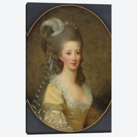 Portrait Of A Woman Canvas Print #BMN7853} by Elisabeth Louise Vigee Le Brun Canvas Print