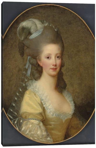 Portrait Of A Woman Canvas Art Print