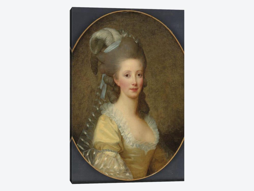 Portrait Of A Woman by Elisabeth Louise Vigee Le Brun 1-piece Canvas Artwork