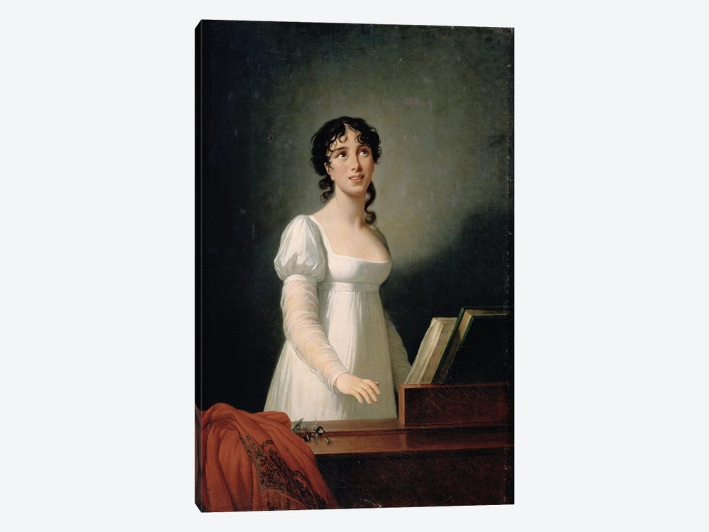 Portrait Of Angelica Catalani (1780-1849) 1-piece Canvas Wall Art
