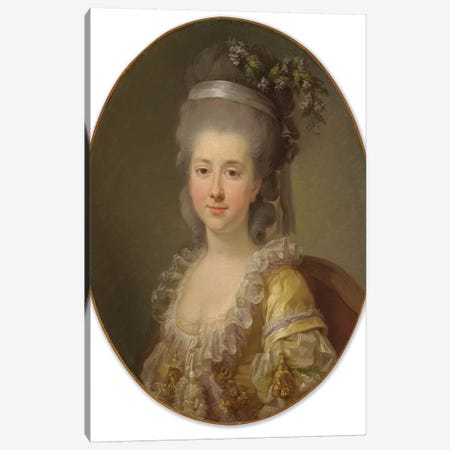 Portrait Of Countess Urszula Potocka, Née Zamoyska Canvas Print #BMN7860} by Elisabeth Louise Vigee Le Brun Canvas Art