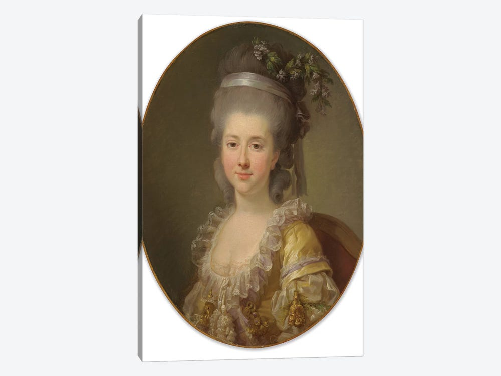 Portrait Of Countess Urszula Potocka, Née Zamoyska by Elisabeth Louise Vigee Le Brun 1-piece Canvas Artwork
