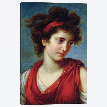 Portrait Of Maguerite Porporati, 1792 Canvas Print #BMN7867} by Elisabeth Louise Vigee Le Brun Canvas Print