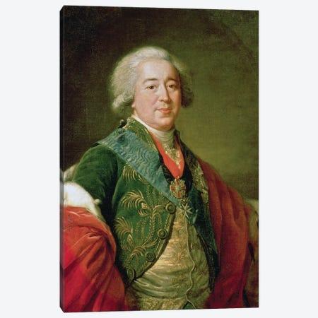 Portrait Of Prince Alexander Borisovich Kurakin (1752-1818), 1797 Canvas Print #BMN7872} by Elisabeth Louise Vigee Le Brun Art Print