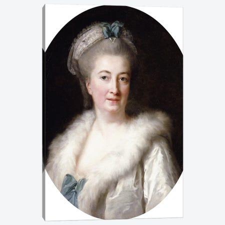 Portrait Of The Artist's Mother, Madame le Sevre Canvas Print #BMN7876} by Elisabeth Louise Vigee Le Brun Canvas Artwork
